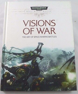 Warhammer 40k Visions of War Art of Space Marines -New