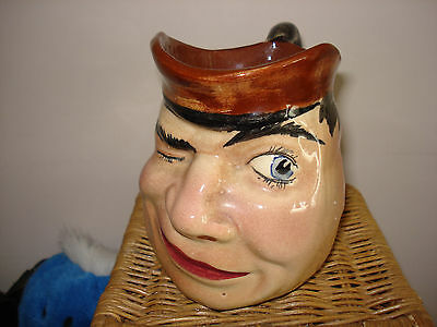 toby jug made by torquay pottery