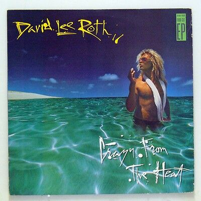 David Lee Roth - 'Crazy From The Heat' (EP Vinilo. Original 1985. USA)