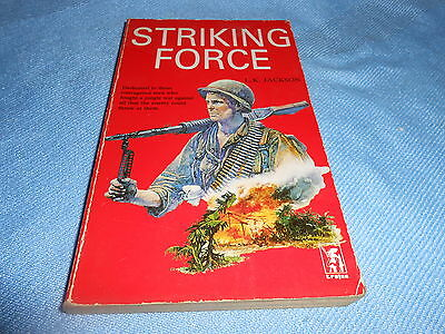 Vintage Pulp War Fiction - STRIKING FORCE - Trojan Paperbacks
