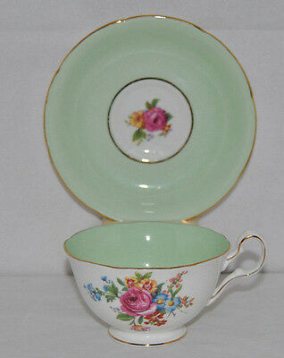 Outstanding Vintage Royal Grafton, Fine Bone China Tea Cup And Saucer