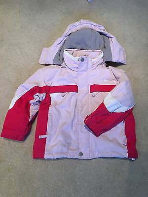 Trespass waterproof jacket, girls, age 2-3
