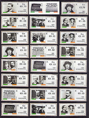 Lot 4  Mnh Ireland Easter Rising 100Th Anniversary Commemorative Stamps