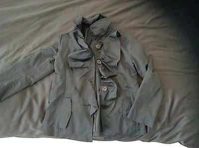 Sisley Kids Jacket Size 7-8 Years Old Worn Only Once