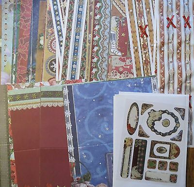 Big Christmas Cardmaking Kit - Cards, Stickers, Papers Clearout Create & Craft