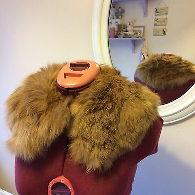 vintage fur stole (may be real)