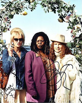 Absolutely Fabulous Cast Photo Genuine Hand Signed 10x8 Photo With COA
