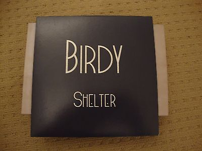 """Birdy Vinyl Promo 7"""" Inch Record Shelter And Shelter Photek Remix The Xx Cover"""