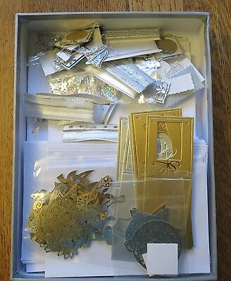 Big Quality Christmas Cardmaking Kit 40 Cards Foiled & Flocked  Clearout