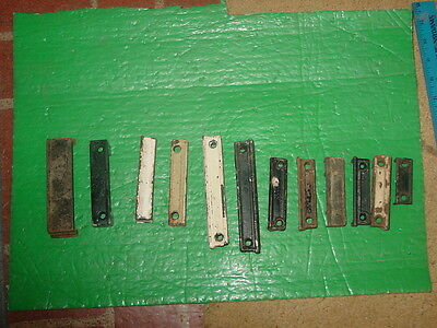12 Large Vintage Rim Lock Door Lock Keepers Unusual • CAD $95.13