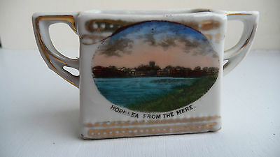 A 'souvenir'  Of Hornsea From The Mere - Bone China Miniature Jug