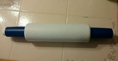 TUPPERWARE  Rolling Pin   White with Blue Specks