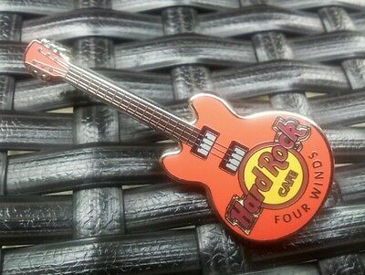 Hard Rock Cafe FOUR WINDS - 3 String Classic Core Guitar Pin New 2014 HRC