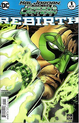 Hal Jordan and the Green Lantern Corps - Rebirth #1 | Regular Cover A | NEW | DC