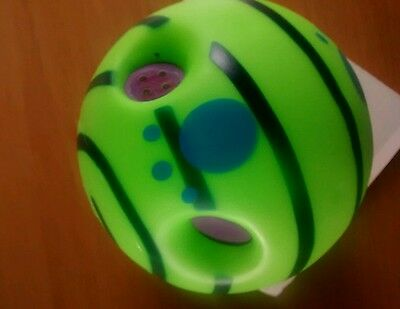 WOBBLE WAG GIGGLE BALL DOG PLAY BALL Funny Sound  UK SELLER FAST DELIVERY!!!