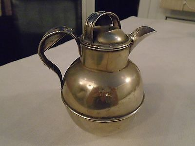 Small Silver Plate Milk Jug With Lid