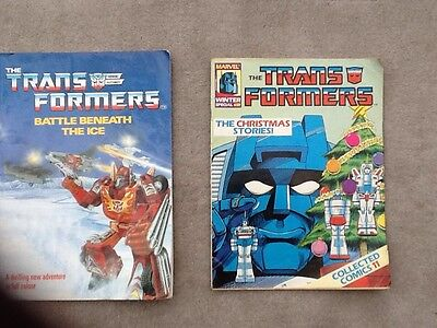 Transformers Winter Xmas Special Collected Comics #11 Marvel 1988
