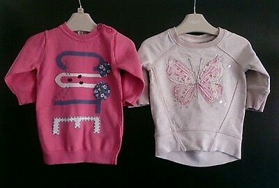 girls next jumpers age 3-6 months ����