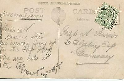 IMPERIAL INTERNATIONAL EXHIBITION LONDON 1909 CANCEL ON KEVIII ½d GREEN 1095