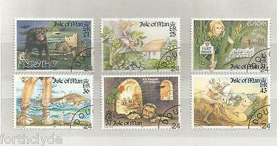 Isle Of Man 1997 Tales And Legends Fine Used Set  Ref 418