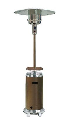 AZ Patio Heaters HLDS01-SSHGT Tall Stainless Steel Patio Heater with Table,