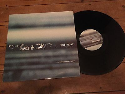 """THE VERVE THE DRUGS DONT WORK 12"""" MINT VINYL SINGLE inc Demo Version & The Crab"""