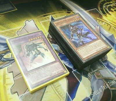 Yu-Gi-Oh! Masked HERO Deck Core - CHEAP (See Pics and Description)