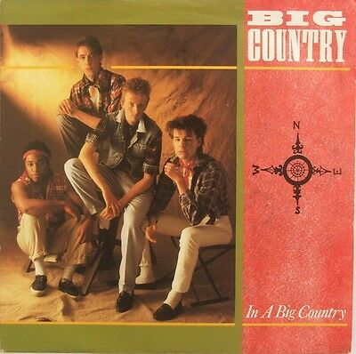 """Big Country - In A Big Country - 7"""" vinyl single - picture sleeve"""