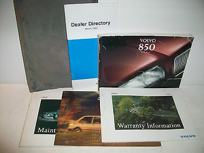 850 volvo owners manual
