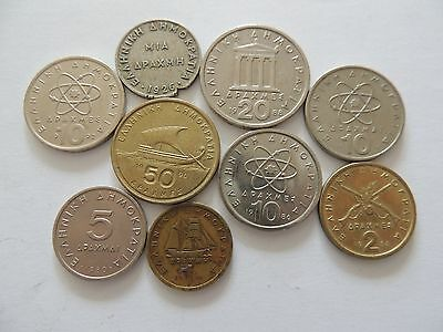 COLLECTION OF GREECE / GREEK COINS - Ref 218