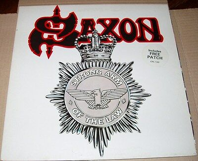 SAXON: strong arm of the law - Lp metal gatefold