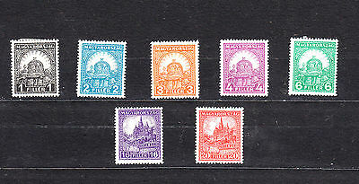 Hungary 1928 Definitives Mint Selection To 20F