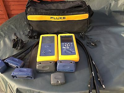 FLUKE DSP4300 Fully Serviced & Calibrated, extra LIA Adaptors, £899 PLUS VAT