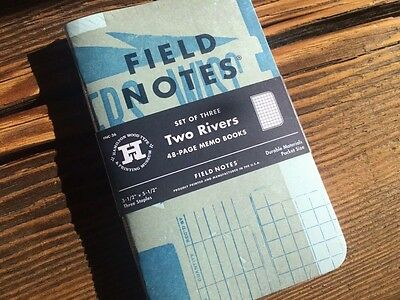 Field Notes Two Rivers Notebook 3 Pack