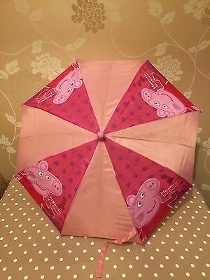 PEPPA PIG UMBRELLA Kids/Children's Brolly
