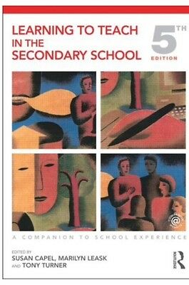 Learning to Teach in the Secondary School by Taylor & Francis Ltd (Paperback,...