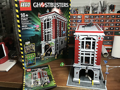ghostbusters lego firehouse 75827