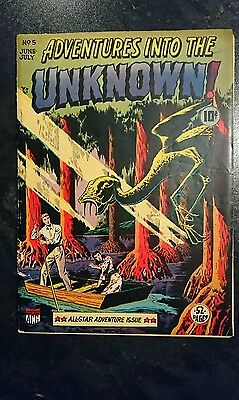 Adventures Into The Unknown #5 (ACG, 1949) Condition: Appro. VG.....
