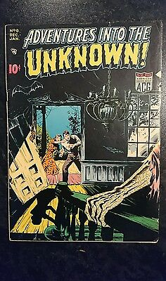 Adventures Into The Unknown #8 (ACG, 1949) Condition: Approx VG.....