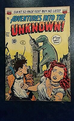 Adventures Into The Unknown #13 (ACG, 1950) Condition: Approx. VG.....