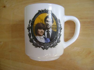 Commemorative Charles and Diana 1981 wedding mug