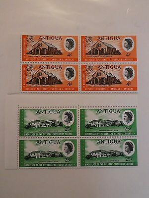 Antigua  - Mint not hinged blocks of 4 stamps