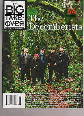 THE DECEMBERISTS The Big Take Over cover magazine #  64 2009  neil innes rutles