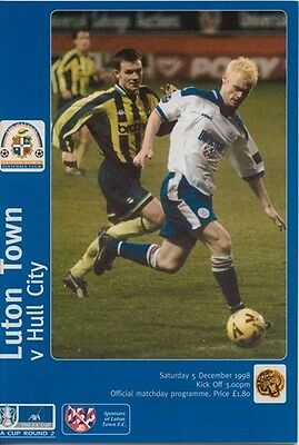LUTON TOWN v HULL CITY FA CUP ROUND 2 1998