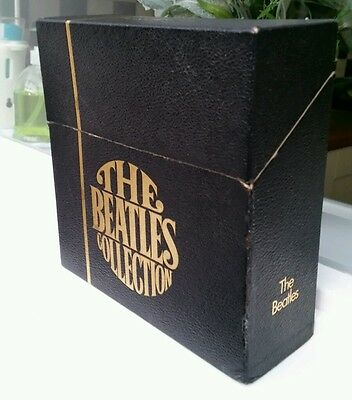 """THE BEATLES COLLECTION BOX SET 1962-1970 24×7""""singles."""