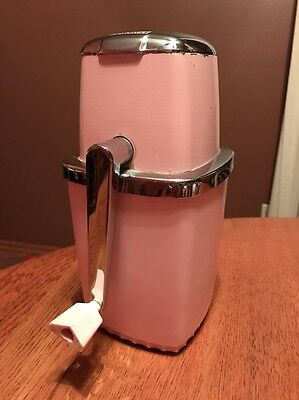 Maid Of Honor Brand Vintage Pink Ice Crusher - Free Shipping