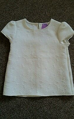 BNWT Girls Blouse Top Age 4-5
