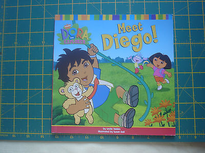 "Dora the Explorer book ""Meet Diego!"""
