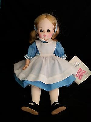 "Madame Alexander 12"" Alice in Wonderland 1552 in Original Box Great Condition"