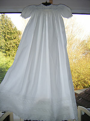 Vintage Christening Gown / could be used for Baby or for Dolls
